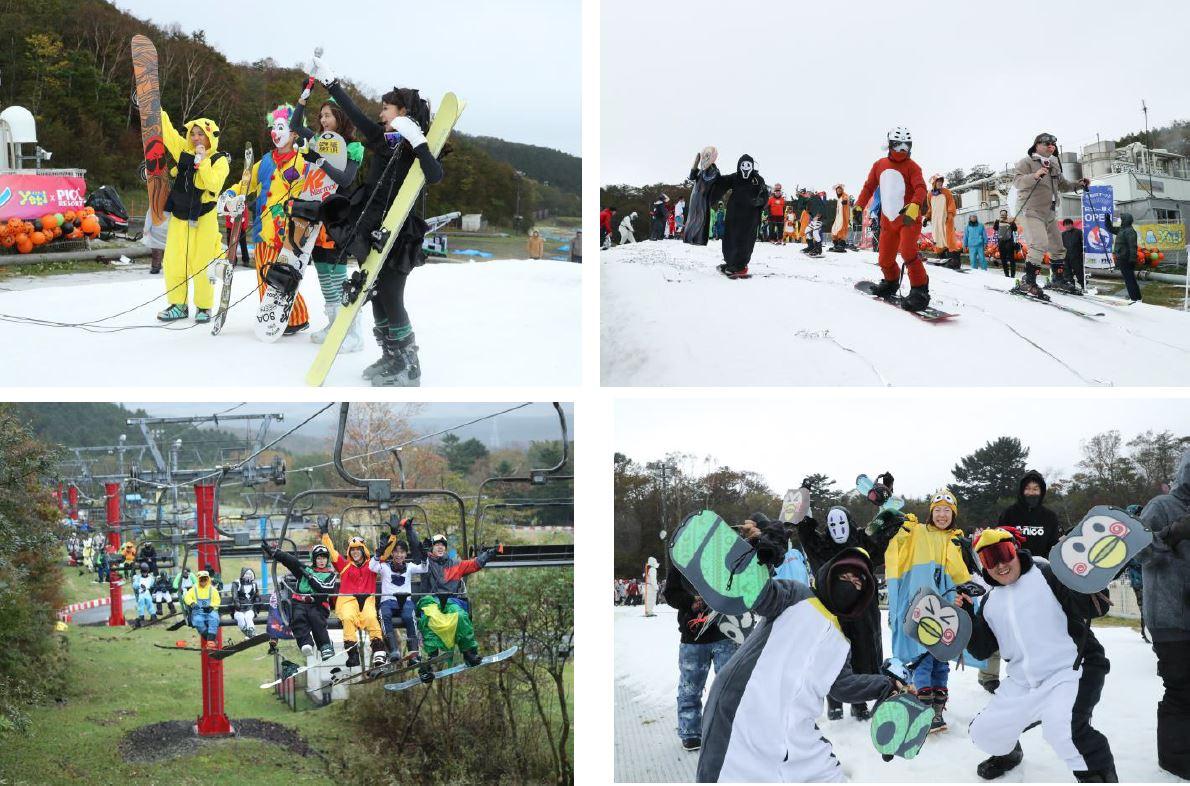富士山2合目のスキー場「イエティ」