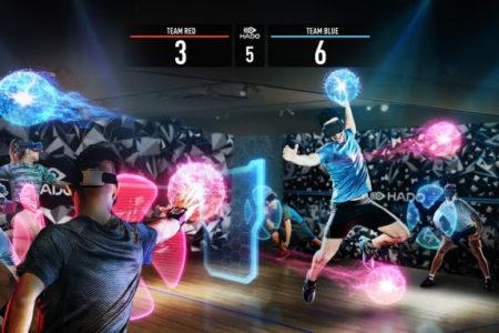 【株式会社meleap】 未来型スポーツスクールが東京日比谷に誕生!今世界中で注目されている最先端ARスポーツが「HADOアカデミー」として10月開校!