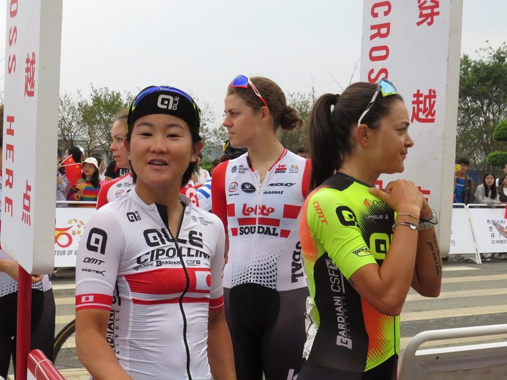 女子ロードレース 中国