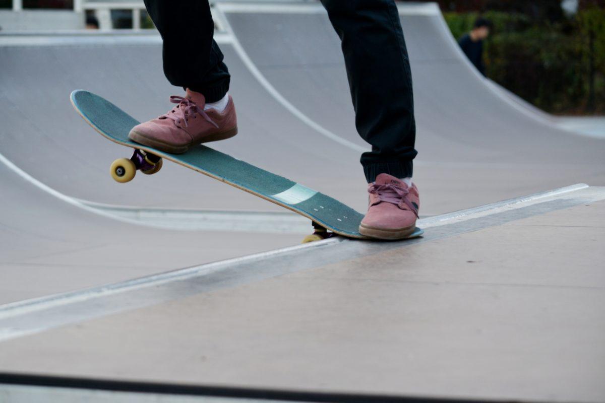 スケボー初心者 スケートボード