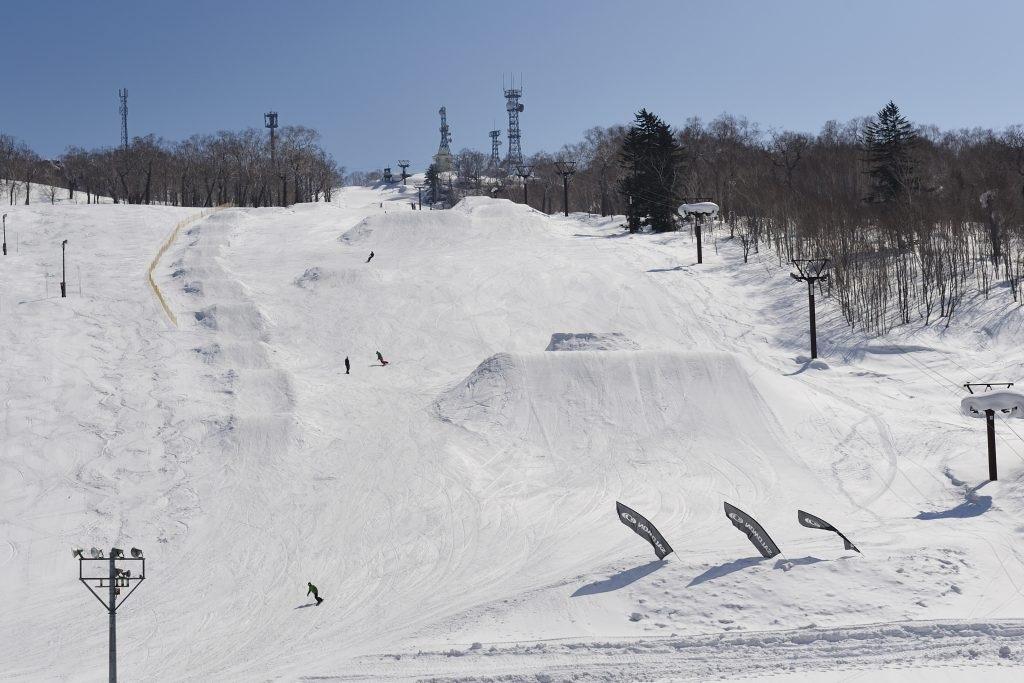 中山峠スキー場 11月中オープン