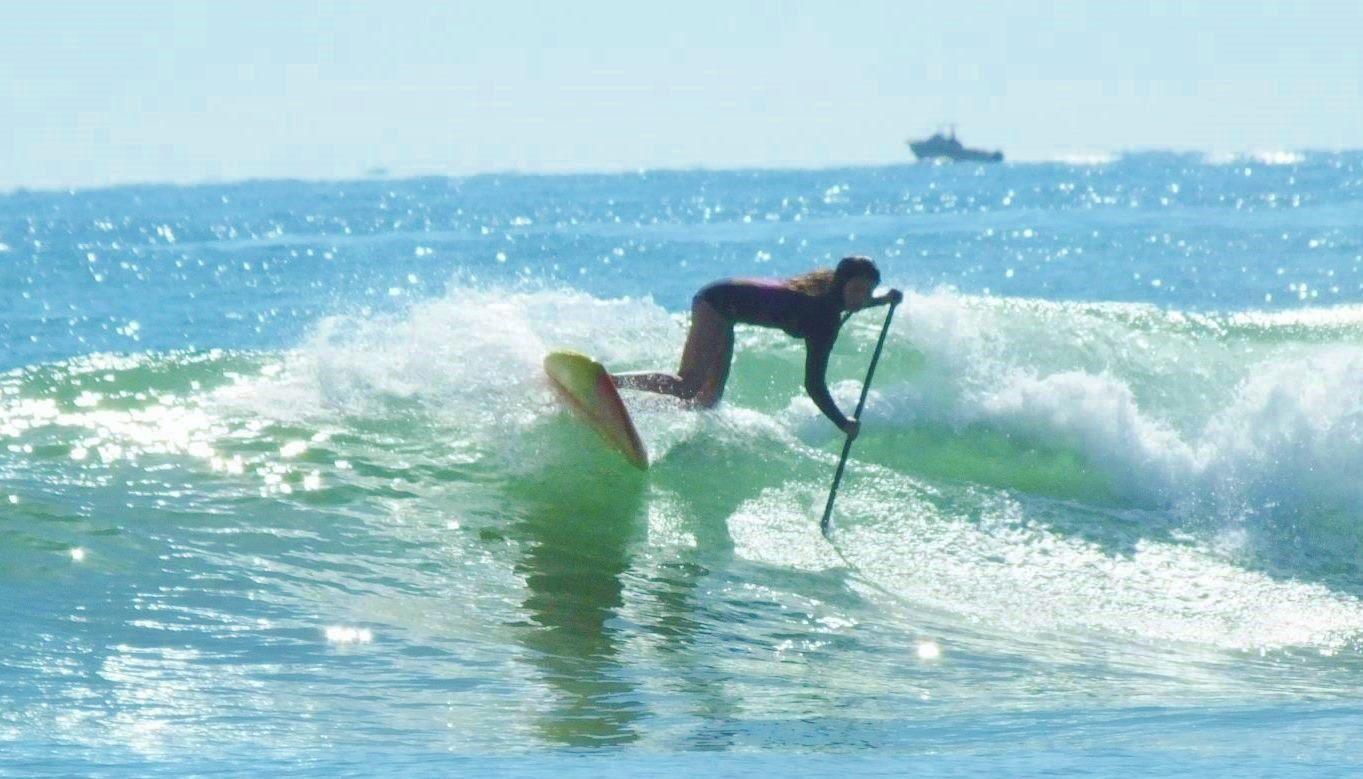 SUPサーフィン