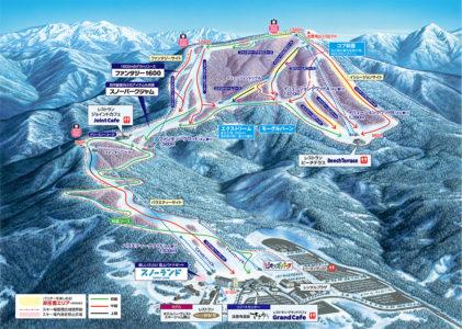 スキージャム勝山(福井県)