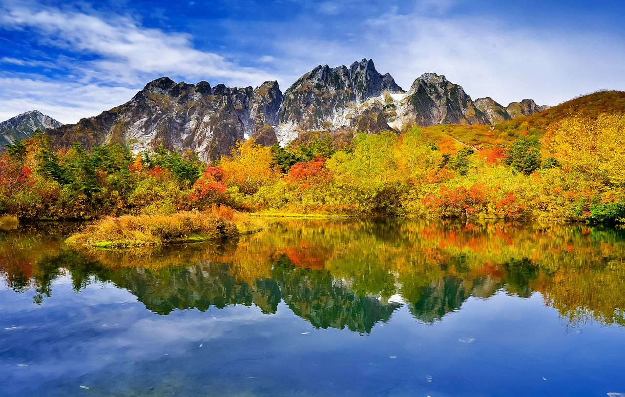 秋シーカヤック紅葉