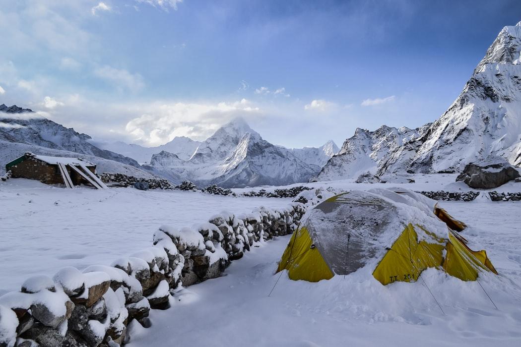冬キャンプ シュラフ(寝袋)