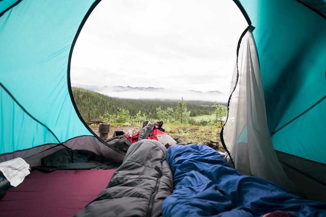 キャンプ マット テント