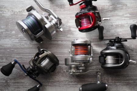 リールで釣果を上げよう!釣りを始めるときに覚えておきたいリールの種類