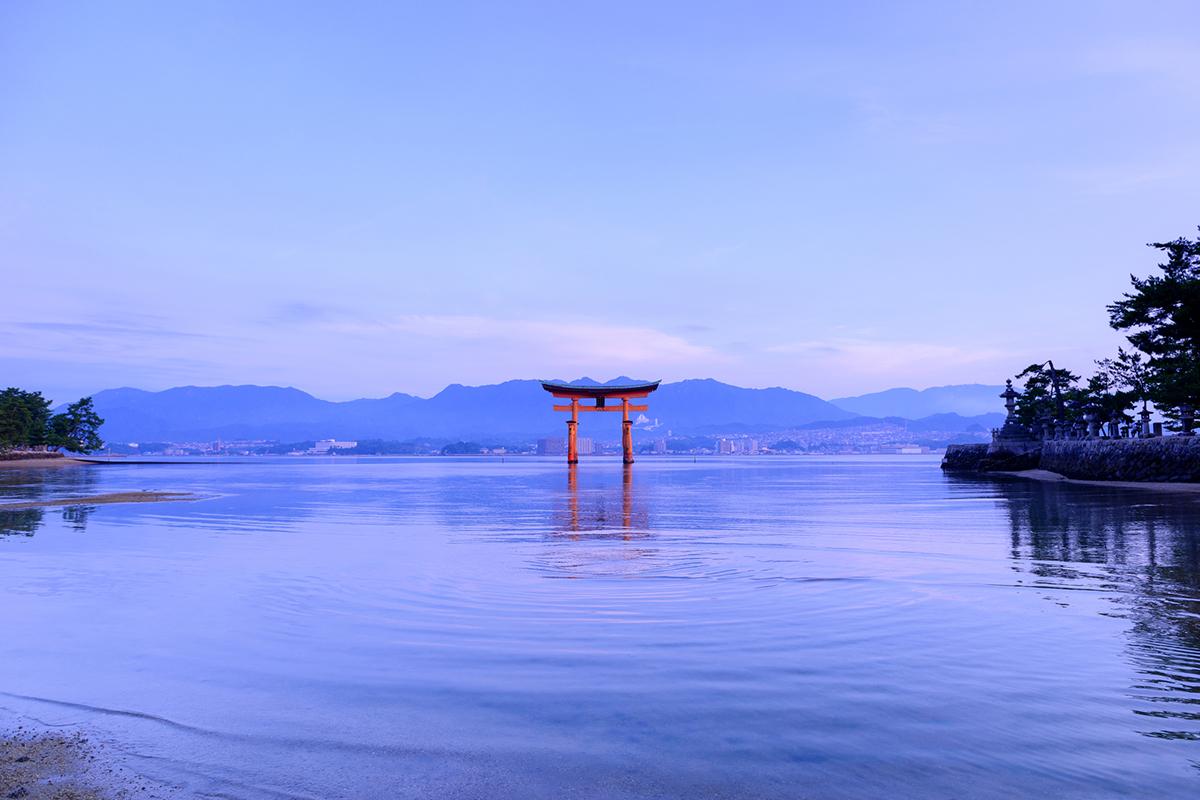 広島県宮島の弥山