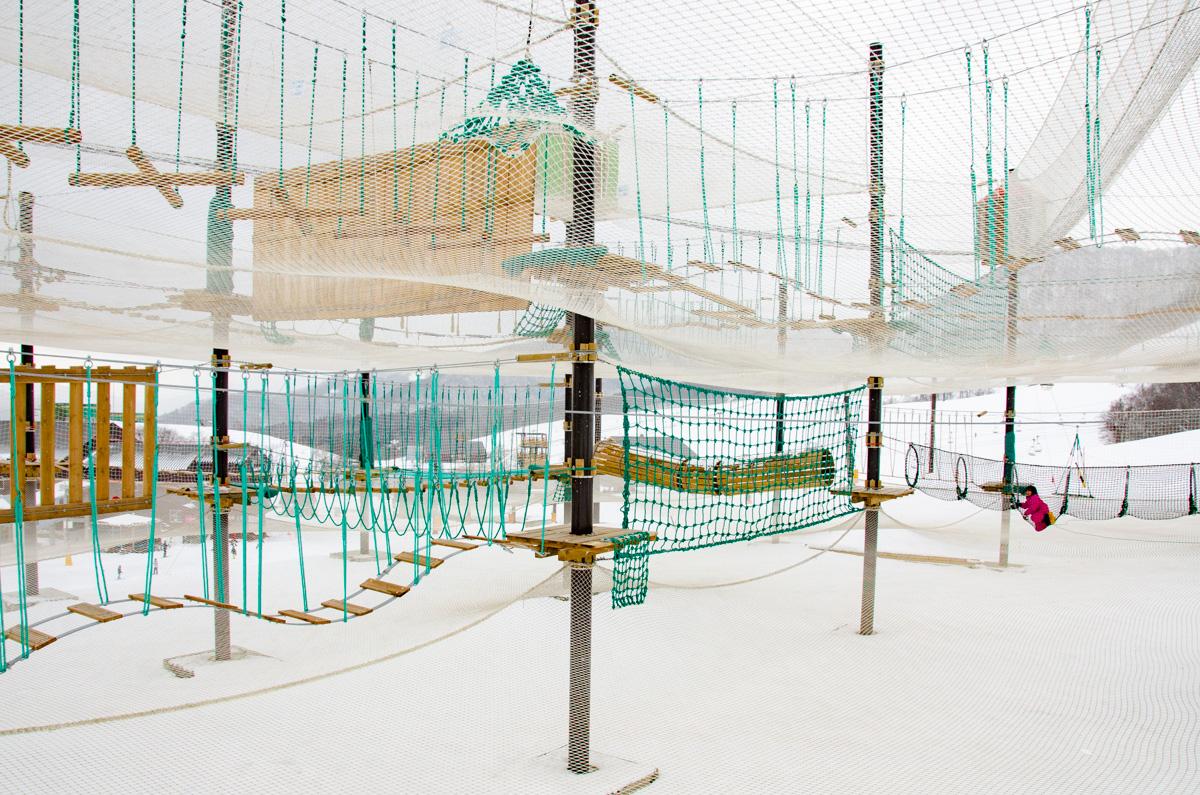 栂池高原スキー場 アドベンチャー施設