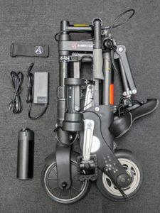 "eバイク ""SINCLAIR RESEARCH A-BIKE ELECTRIC"""