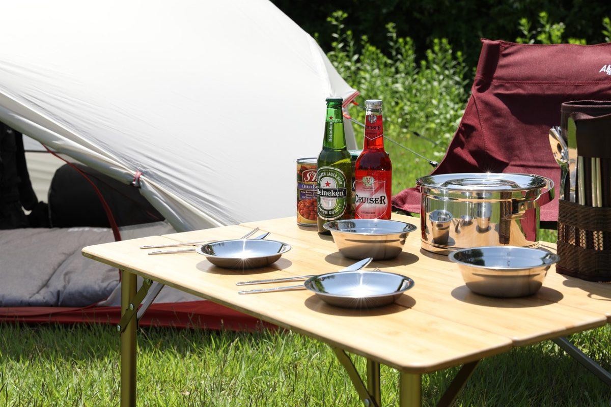 キャンプ 調理台