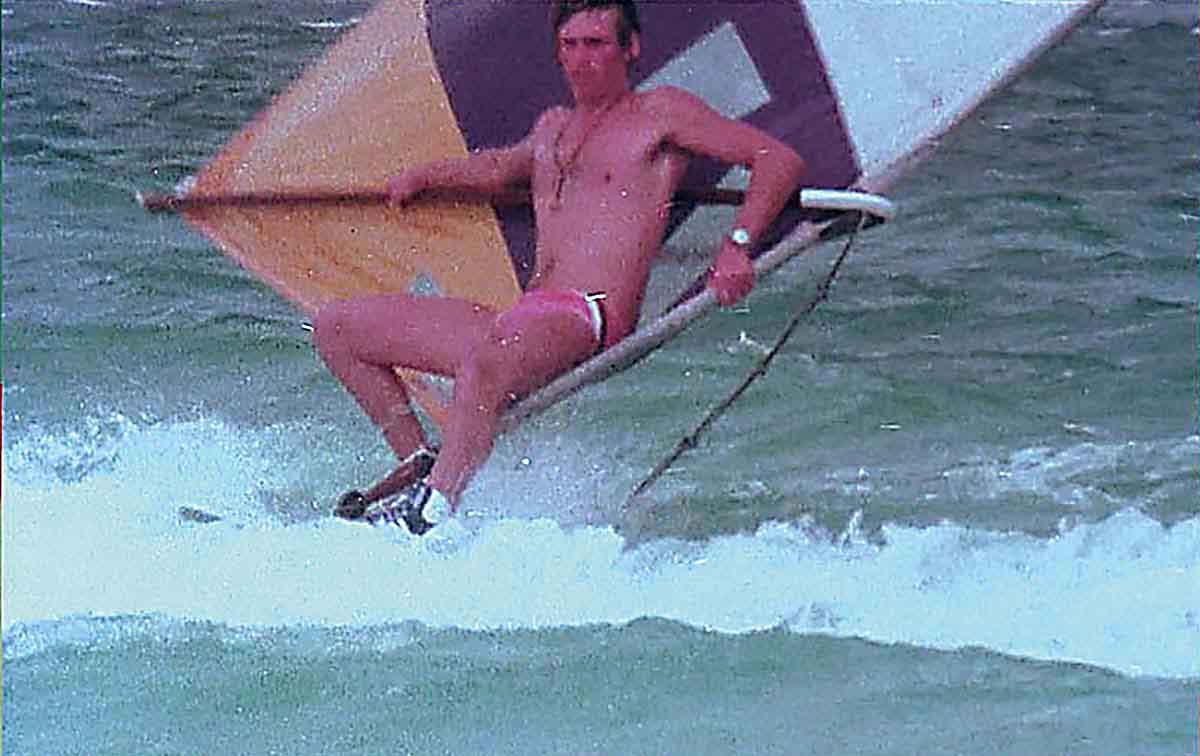 ウインドサーフィンのフリースタイル