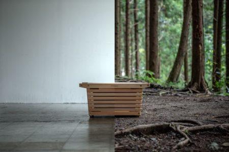 IKIKI(イキキ)シェルフコンテナ、先行予約販売【国内家具メーカーが作る、アウトドアのための機能的で美しい、木製シェルフコンテナ】