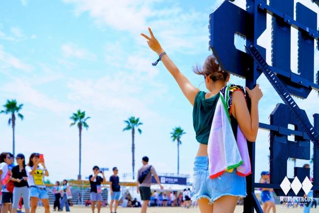 大阪夏ビーチフェス「MUSIC CIRCUS」
