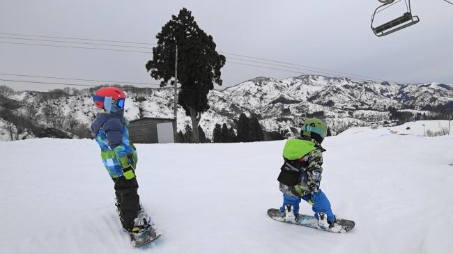 子供向けスキー・スノーボードレンタル