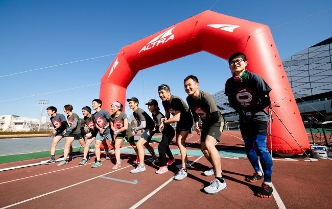 ALTRA TIME TRIAL SERIES 2020 in 東京