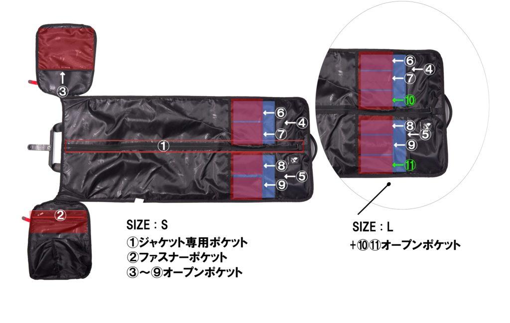 FREQUENT FLYER(フリークエントフライヤー)のKingsman(畳めるボストンバッグ)