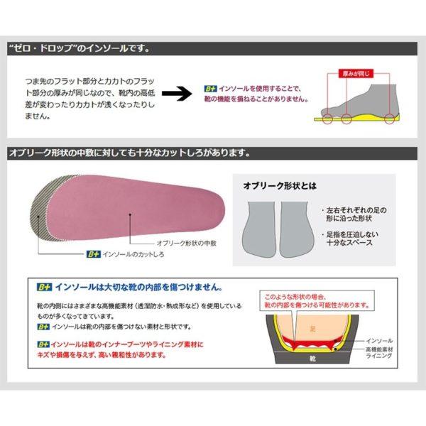 ホシノ インソール コンセプト サイズ