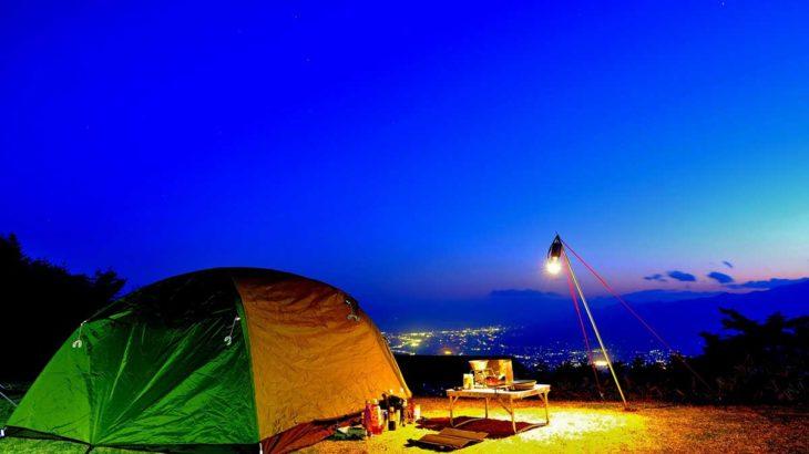キャンプ ランタンスタンド
