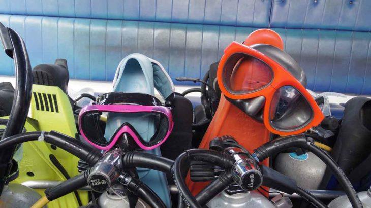 ダイビング器材 購入 レンタル