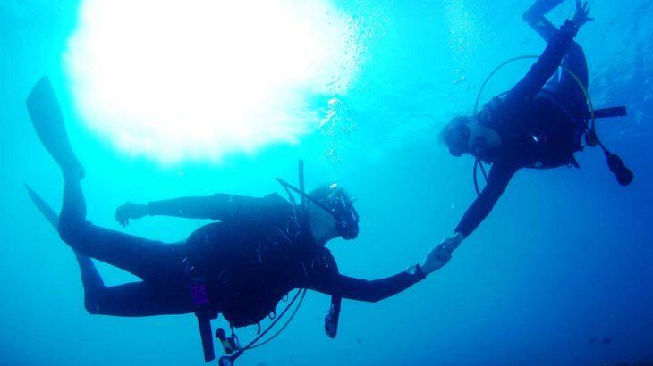 ダイビング ダイバー パニック