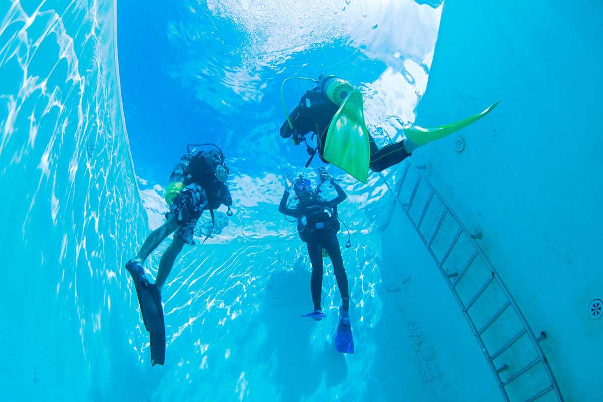ダイビング 中性浮力