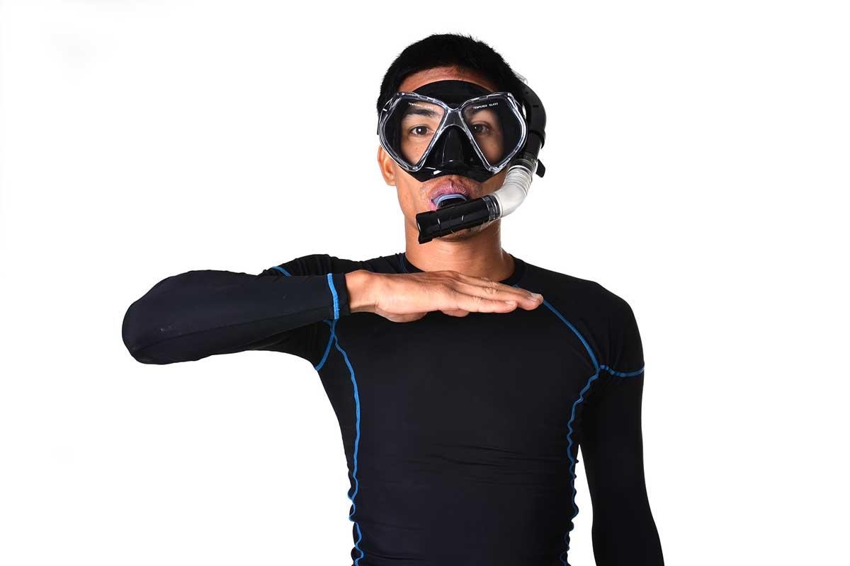 スキューバダイビング ダイビング 呼吸