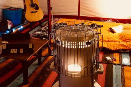 電源サイトで本当に使える暖房器具はこれ!【冬キャンプ防寒対策】