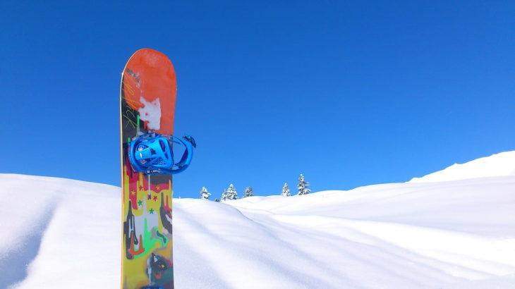 スノーボードをかっこよくおしゃれに変身!おすすめステッカーをご紹介