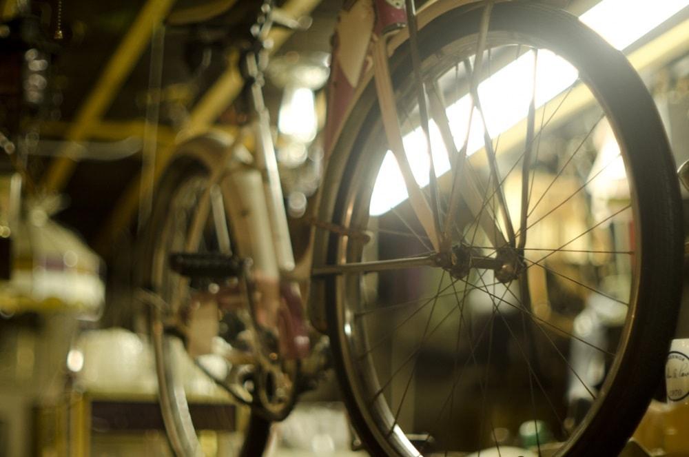 ロードバイク シミ・傷・補修