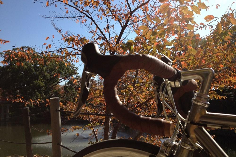 クロモリ ロードバイク