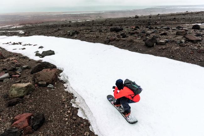 スノーリゾートから気候変動を考える3日間