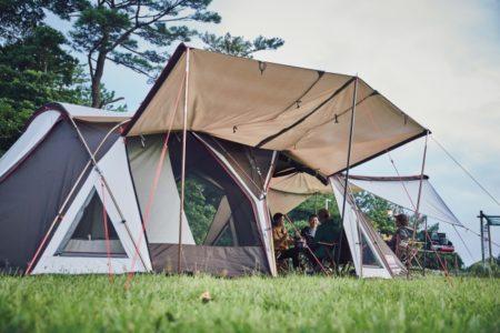 コールマン(Coleman)、マスターシリーズのテントの全モデルに「コットン混紡ポリエステル」を採用