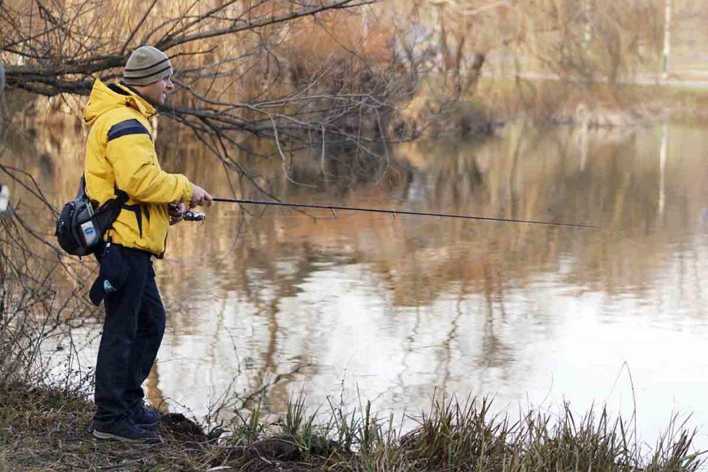 冬 釣り アウター