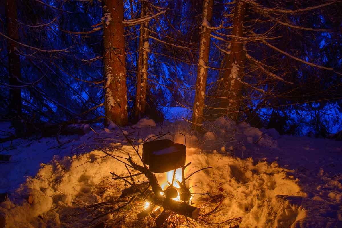 焚き火ハンガー キャンプ