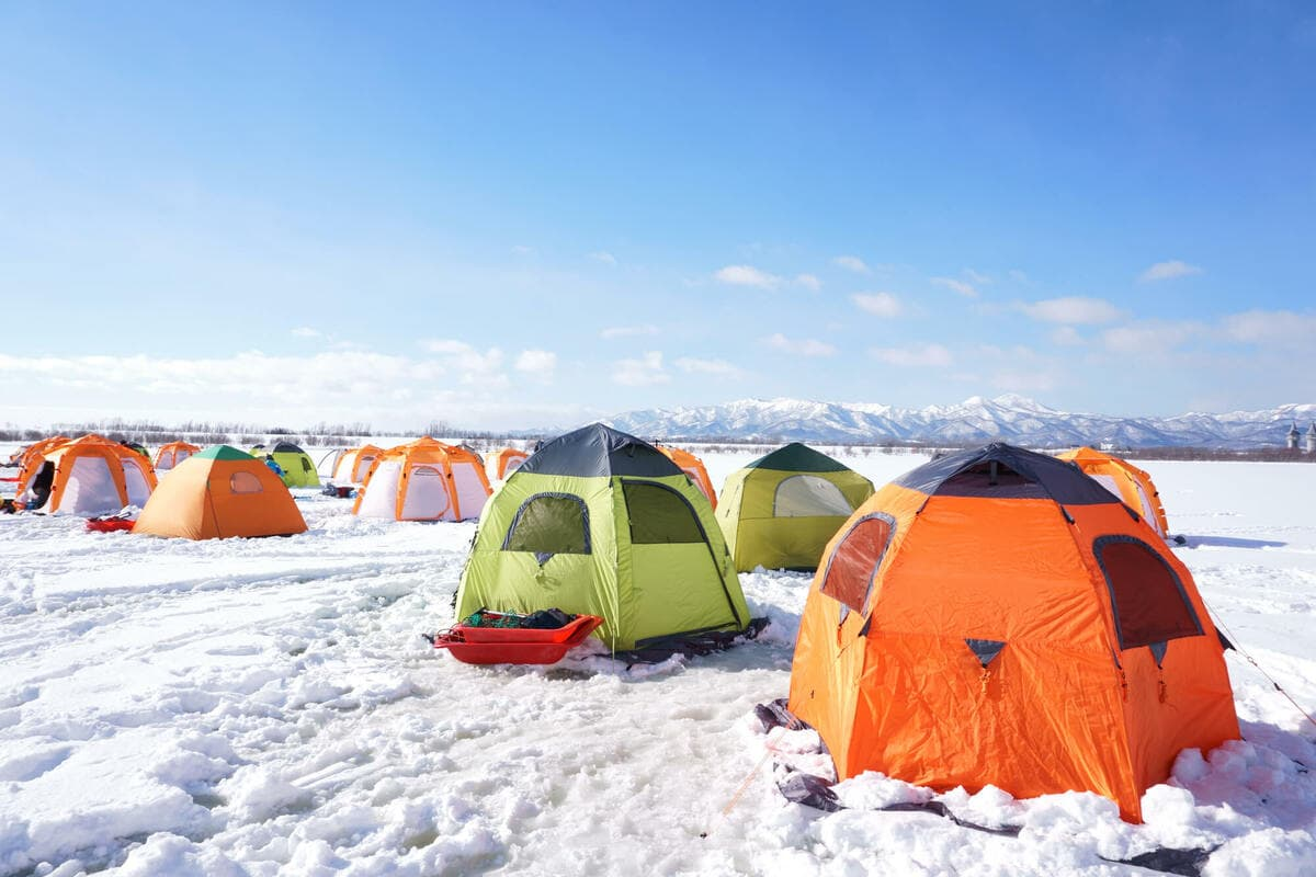 雪山 テント泊