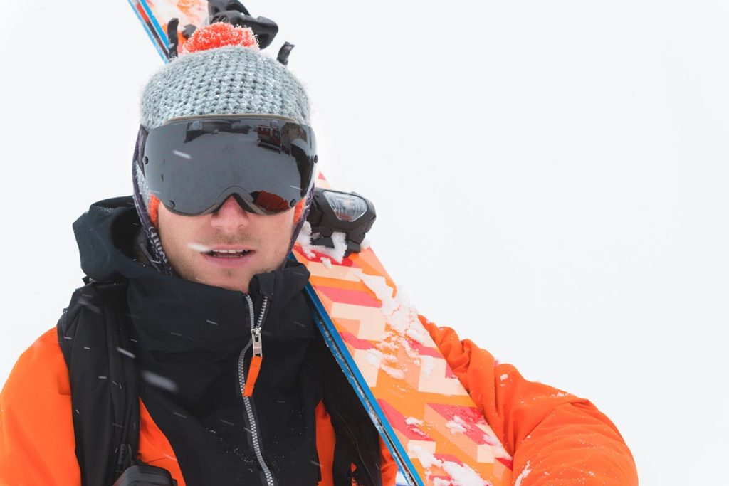 スキー ニット帽