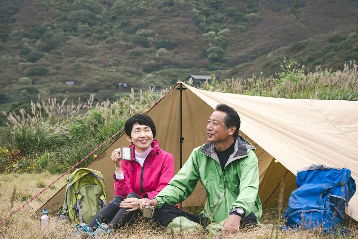 カンガルースタイル テント キャンプ