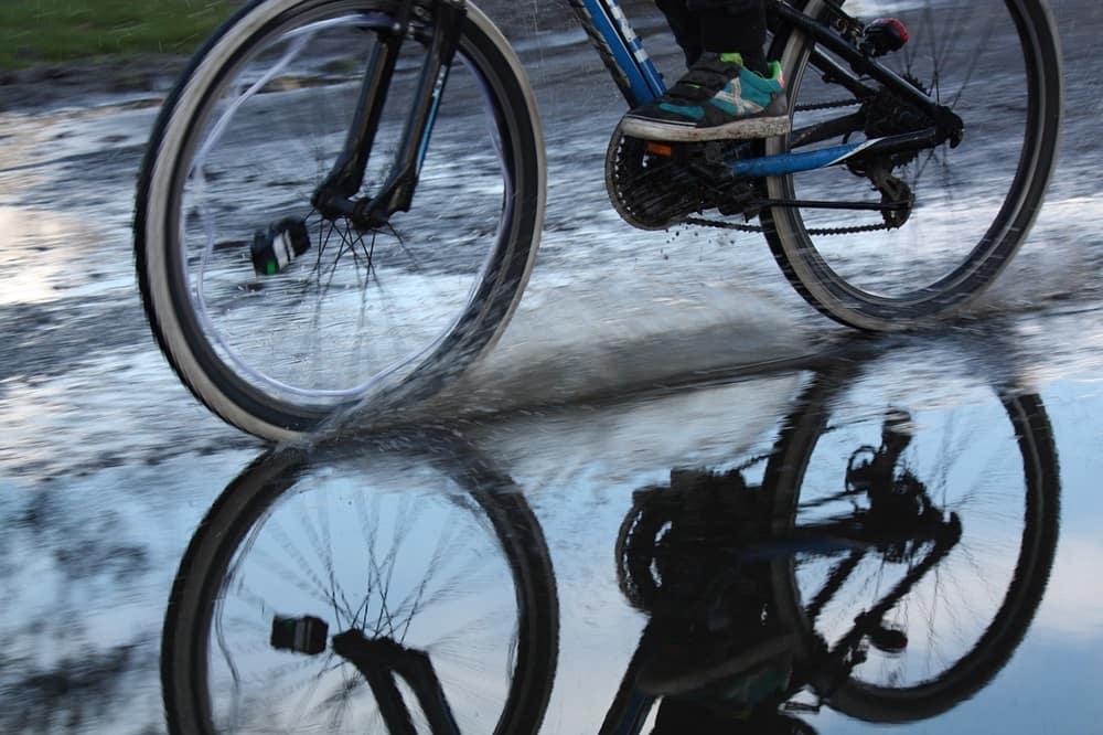 ロードバイク 泥除け
