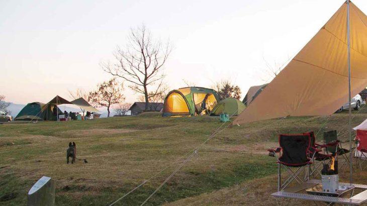 冬キャンプ 関東
