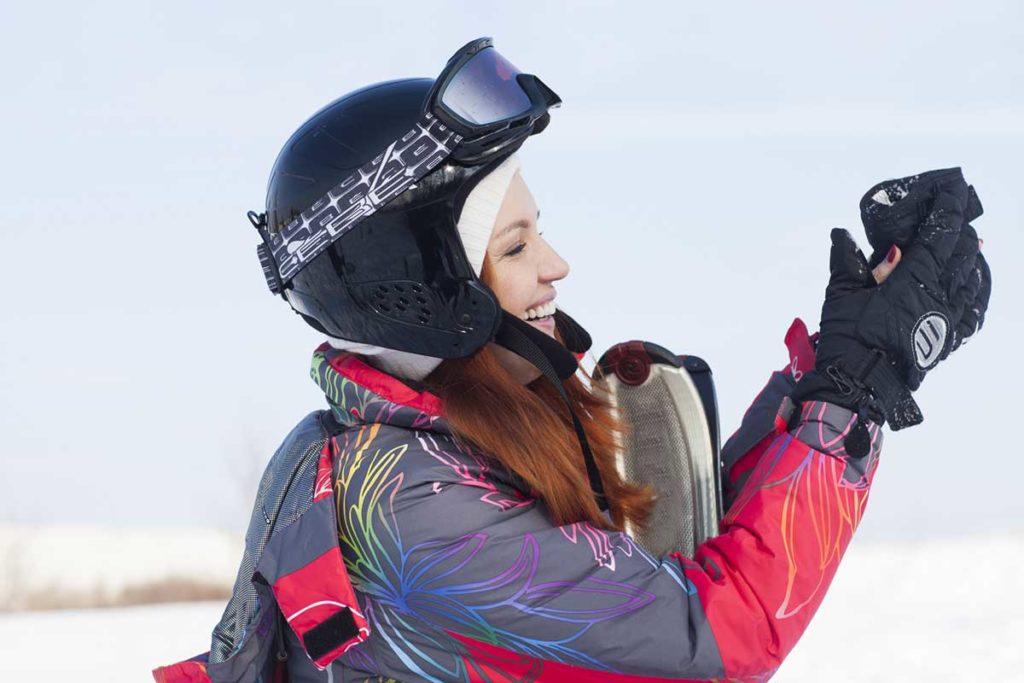 スキー・スノーボード用の財布