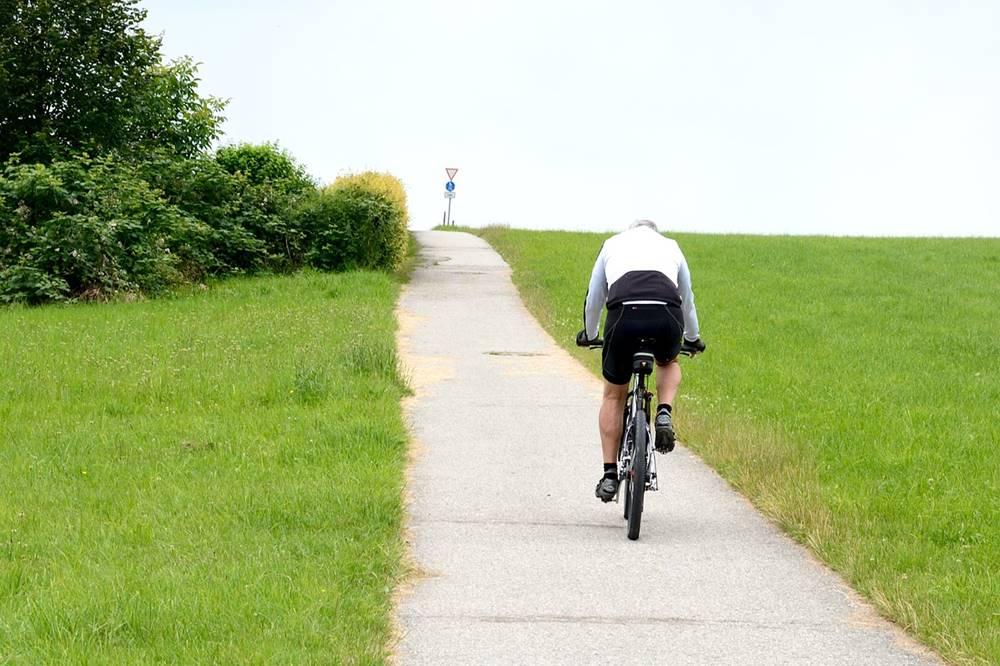 ロードバイク ペダリング