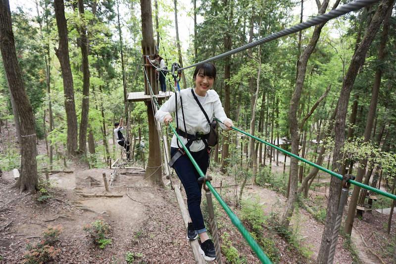 森林活用型アドベンチャーパーク「冒険の森」