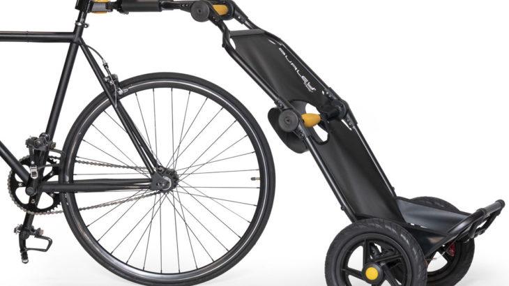 重い荷物を安全に運べる自転車用カーゴトレーラー 「トラボーイV2」を販売開始