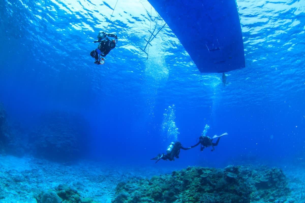 ダイビング 潜降