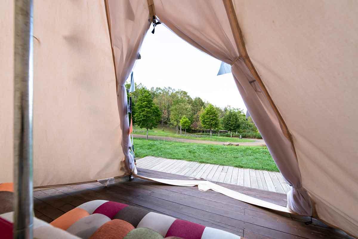 キャンプ ソファ