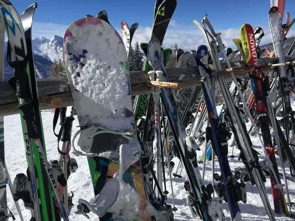 スキー スノボ(スノーボード) 保管