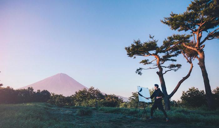 グランピングリゾート星のや富士「春の一筆入魂ステイ」【焚き火・トレッキング】
