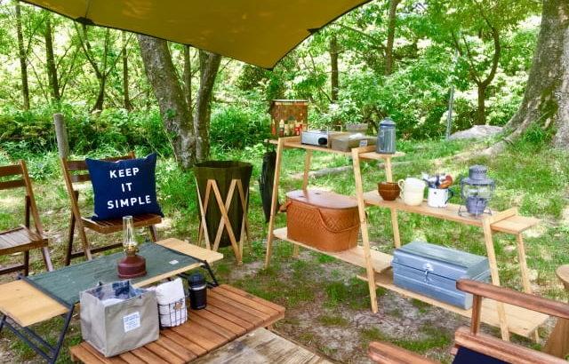 キャンプ用の棚(ラック)はおしゃれ×便利がいまどき!キャンプにぴったりな棚をご紹介します