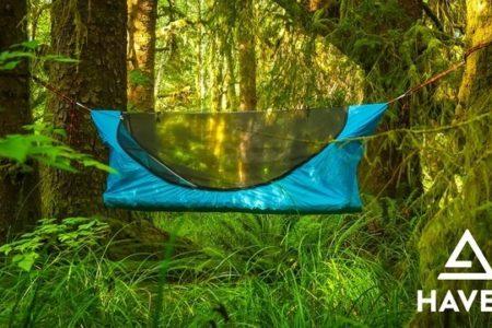 フルフラット式ハンモック「Haven Tent(ヘブンテント)」発売